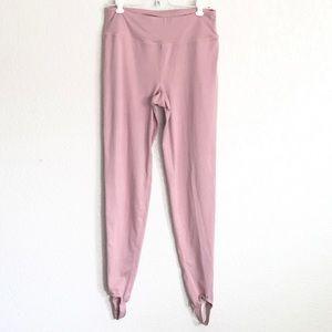 Pants - Kittenish pink stirrup leggings sz. M